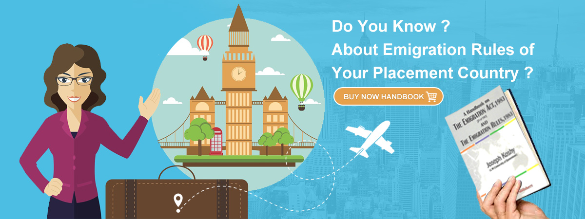 Do you know about emigration rules of your placement country ?